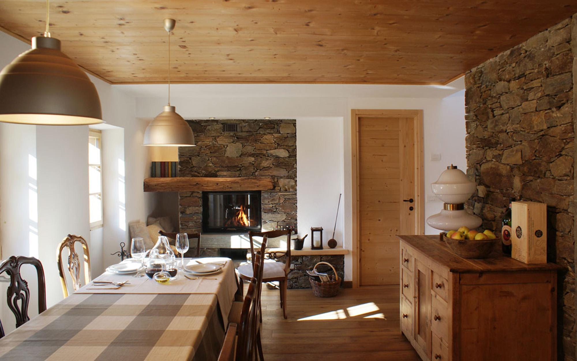 Baita grittirollo for Piani di casa in stile artigiano di montagna